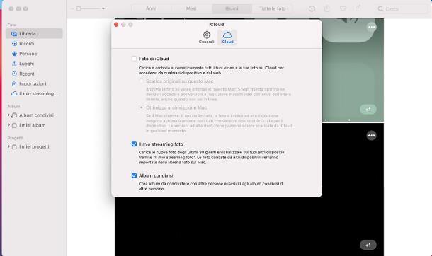 Come archiviare le foto su iCloud