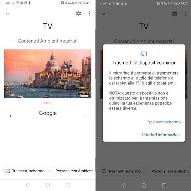 Come funziona Chromecast con Android