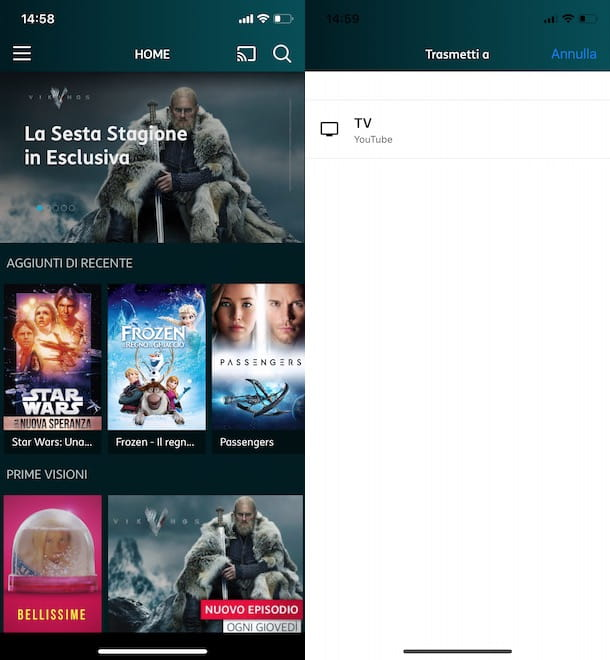Come funziona Chromecast con iPhone