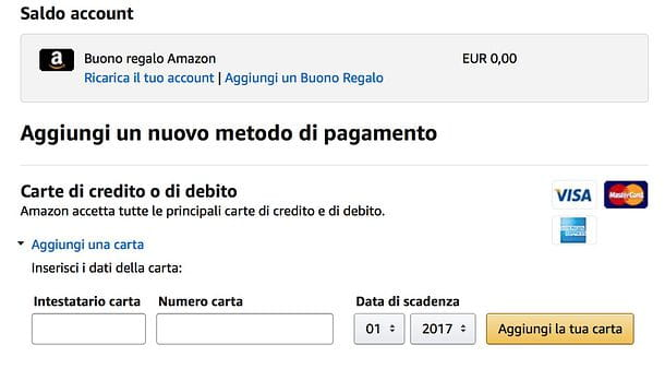 come si acquista su amazon con paypal