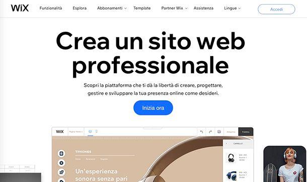 Come creare un blog gratis su Internet con Wix
