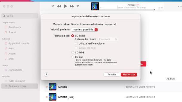 Programma per masterizzare CD audio