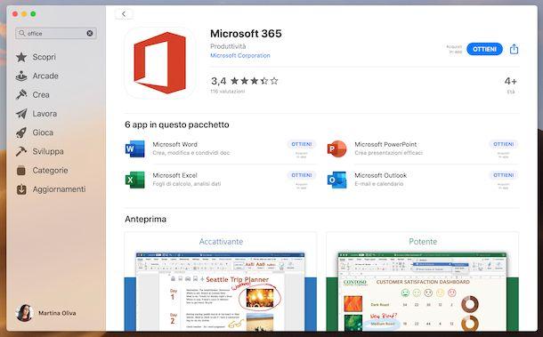 Microsoft 365 Mac App Store