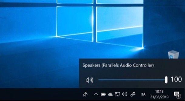 Alzare volume Windows 10