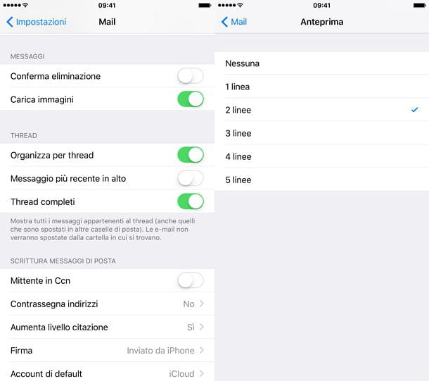 Come impostare Mail su iPhone