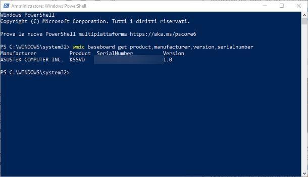 Come identificare la scheda madre del PC Windows