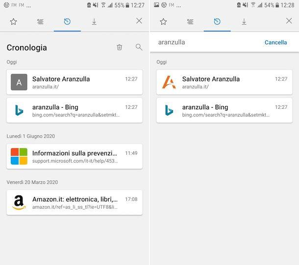Cronologia Edge Android