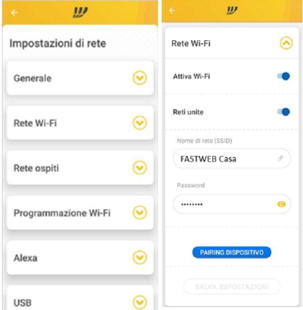Come cambiare password modem Fastweb: NeXXt
