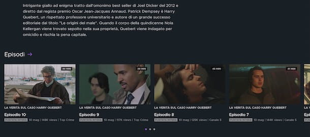 Rivedere serie TV Mediaset