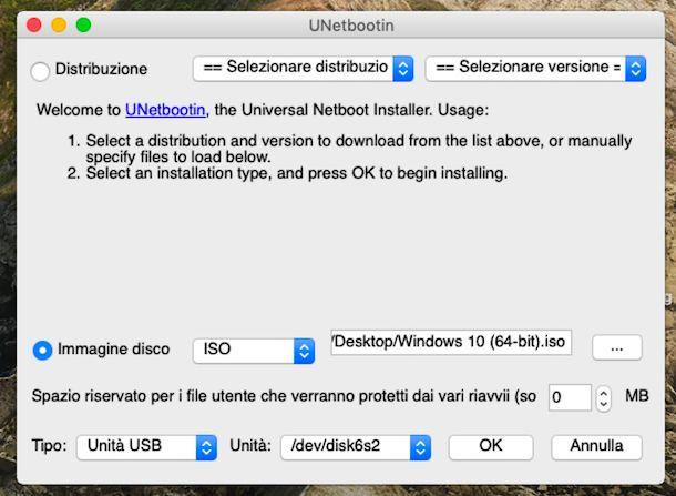 Unetbootin macOS