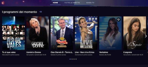 Come rivedere programmi TV Mediaset da computer