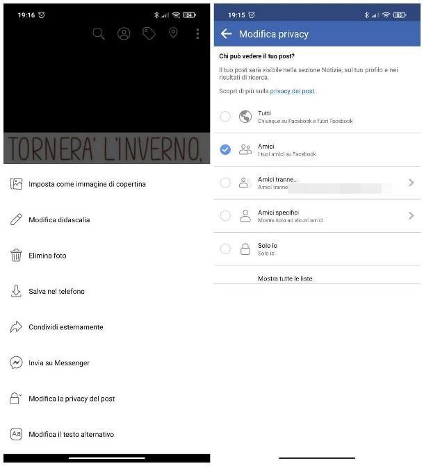 Come privatizzare le foto su Facebook