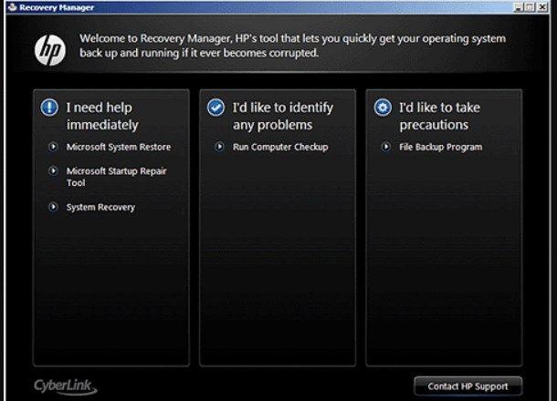 Come formattare un PC portatile HP