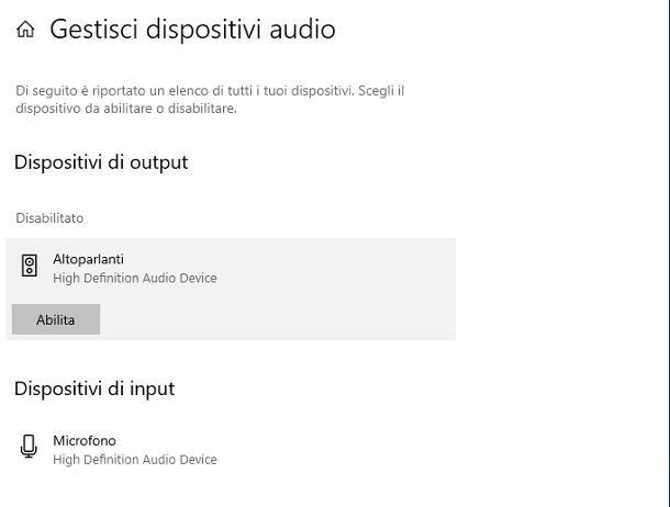 Non funziona l'audio del PC: cosa fare