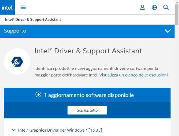 Intel Support Assistant (hardware Intel)