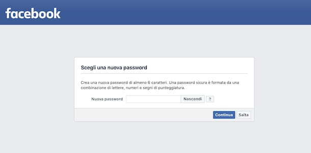 Come recuperare la password di Facebook rubata