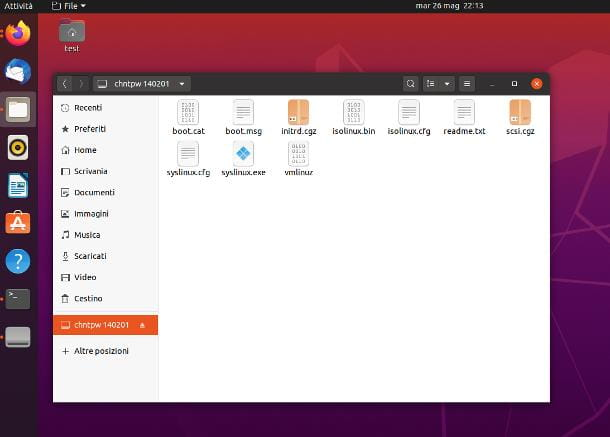 Come aprire file BIN con Ubuntu