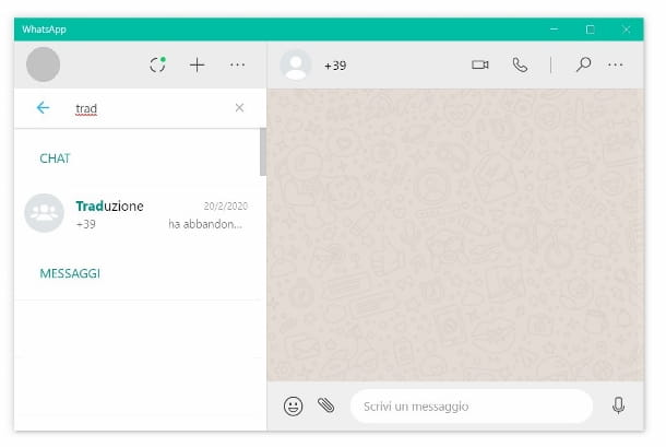 WhatsApp Desktop Windows