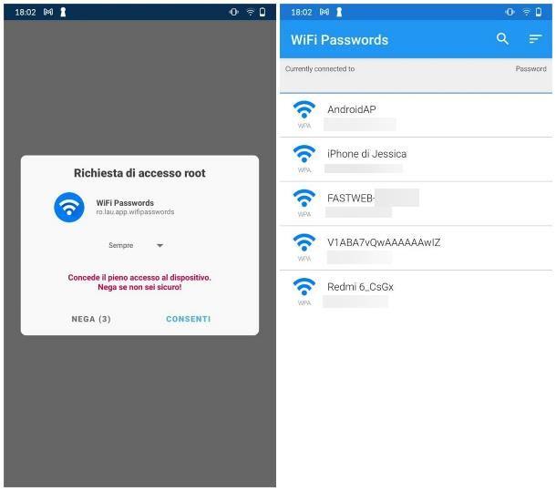 Come vedere password WiFi Android: procedura alternativa