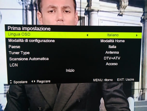 Come ordinare i canali TV: AKAI