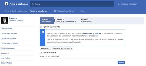 Forum Facebook