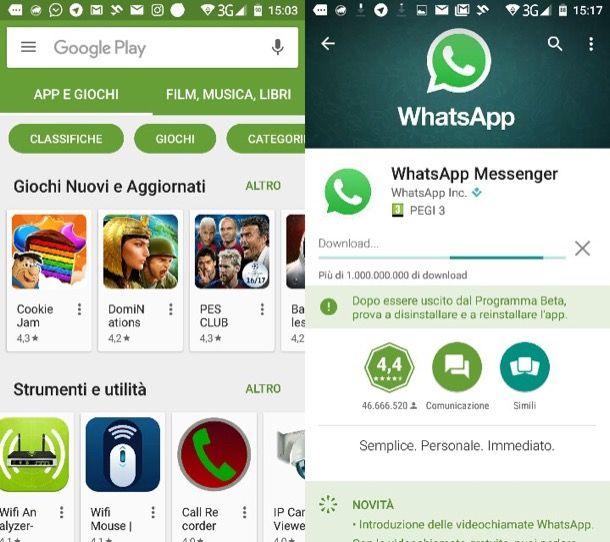 Come videochiamare su WhatsApp
