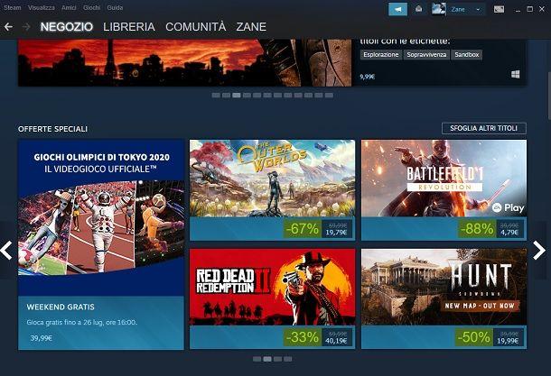 Giochi gratis weekend Steam