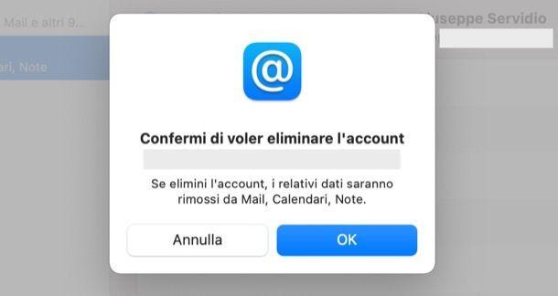 Come eliminare account Microsoft da Mac