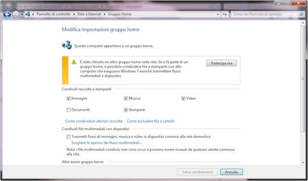 Come attivare WLAN Windows 7