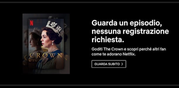 Guardare un episodio Netflix gratis