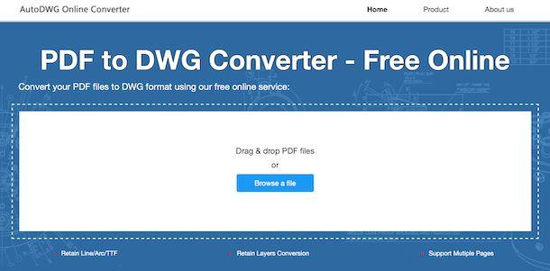 AutoDWG Online Converter
