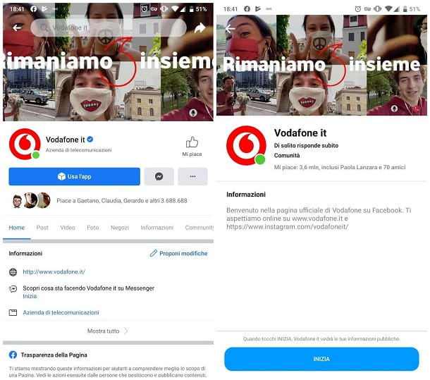 Altre soluzioni utili per parlare con operatore Vodafone