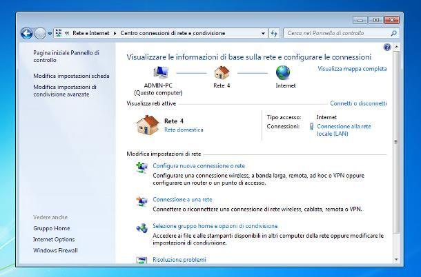 Come abilitare DHCP: Windows 7