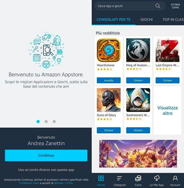 Amazon AppStore App a pagamento gratis Android
