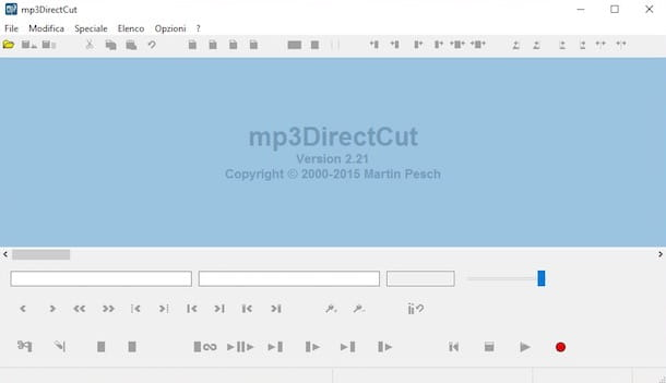 Programmi per editing audio