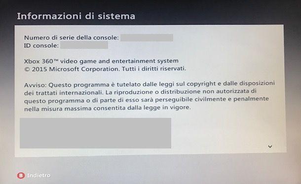 Come resettare Xbox 360