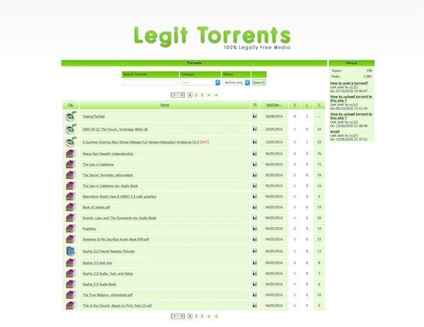 Migliori siti Torrent