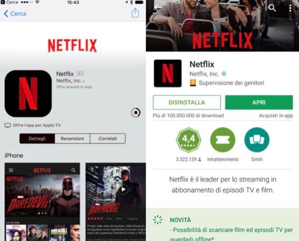 Come vedere Netflix offline