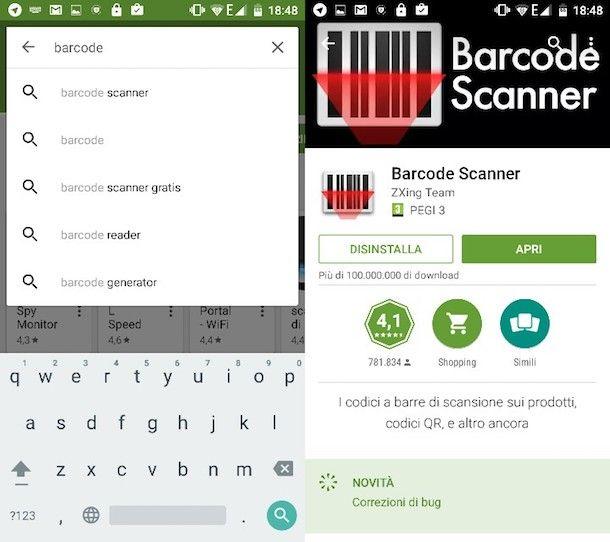 Come leggere QR code con Samsung