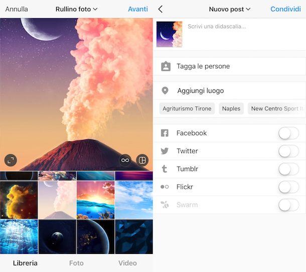 Come zoomare le foto su Instagram