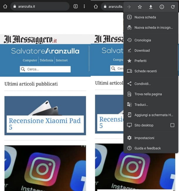 Google Chrome Miglior Browser Android