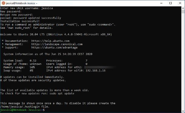 Come installare Linux su Windows 10