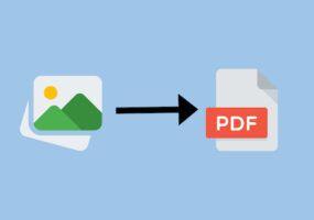 Come trasformare immagini in PDF