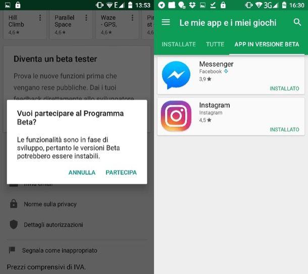 Come aggiornare Messenger