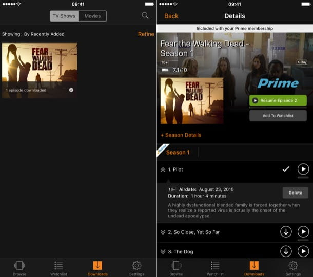 Amazon Prime Video Italia: come funziona