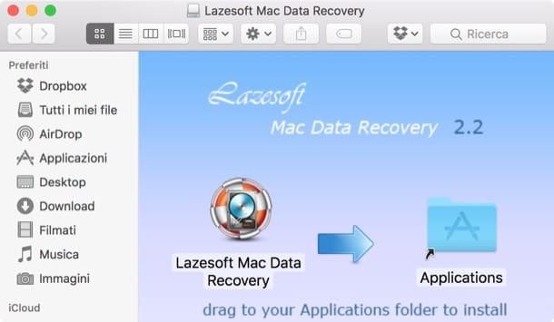 Come recuperare file cancellati Mac