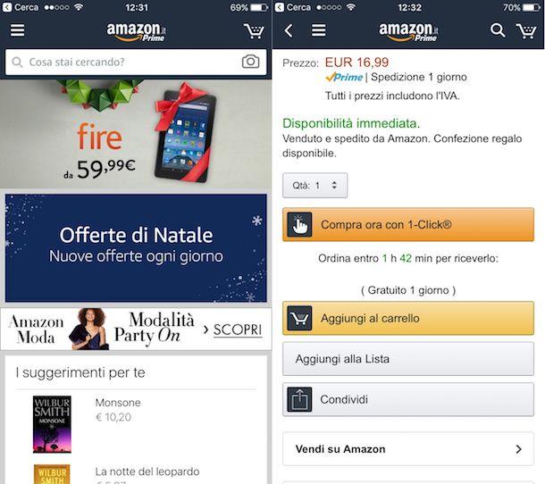 Come comprare su Amazon