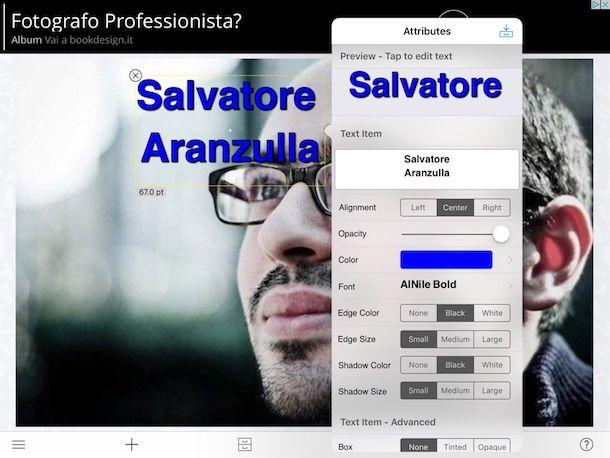 App per scrivere sulle foto