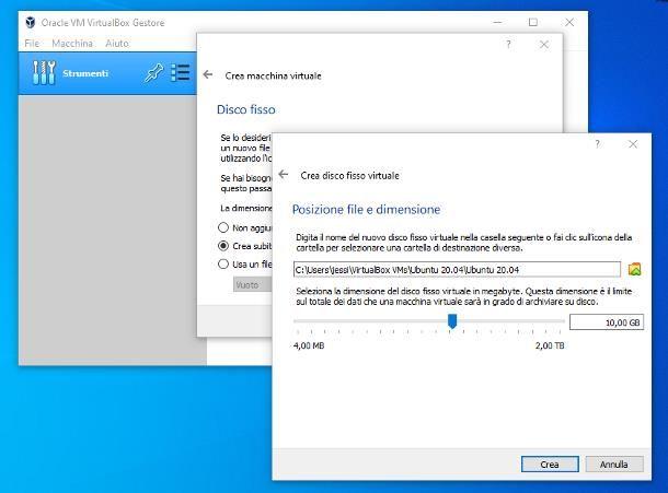 Come installare Linux su VirtualBox