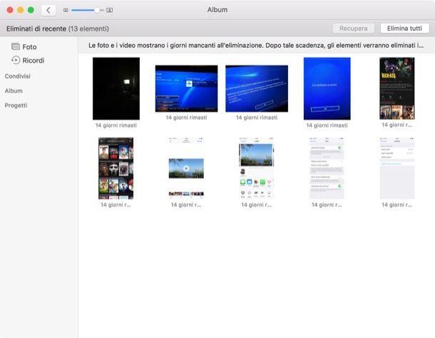 Come recuperare file cancellati Mac
